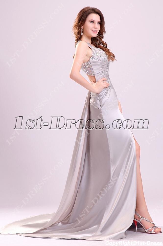 stylish silver sexy prom dress in 2014 spring1stdresscom