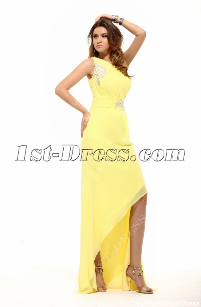 Yellow Cocktail Dresses 110