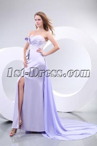 Lavender Sexy Formal Celebrity Evening Dresses Online