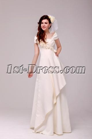 Off Shoulder Wedding Anniversary Dresses