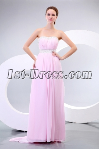 Sweet Pink Maternity Cocktail Dress