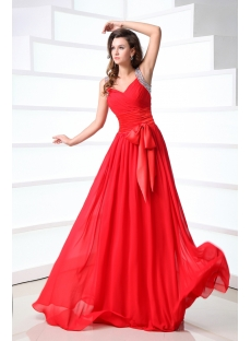 Charming Long Chiffon Formal Evening Gowns 2013
