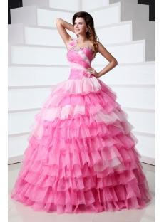 Dramatic Puffy Affordable Princess Vestidos de Quinceanera