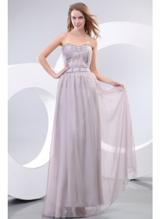 Gray Chiffon Evening Dresses Australia