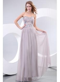 Gray Chiffon Evening Dresses Australia