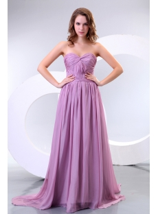 Pretty Lilac Plus Size Evening Cocktail Dresses