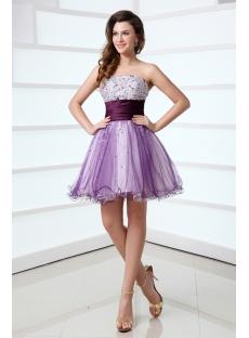 Purple Sweet 16 Dresses Short in Miami