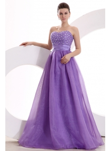 Purple Sweetheart 2011 Quinceanera Dresses Popular