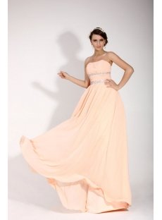 Romantic Long Sweetheart Military Prom Dress