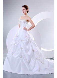 Romantic Strapless Bridal Gowns Perth Western Australia