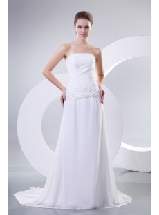Simple Mature Bridal Gowns for Beach Weddings Sunshine Coast