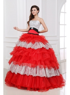 Special Colorful baile de debutantes Dress for Girl