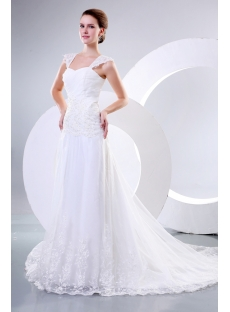 Sweetheart Classic Wedding Dresses with Lace