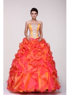 Unique Colorful Vestidos de Quinceanera 2014