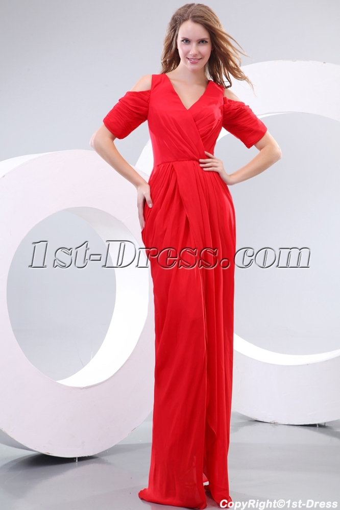 images/201312/big/Amazing-80s-Red-Chiffon-Short-Sleeves-Prom-Dress-3873-b-1-1387969938.jpg