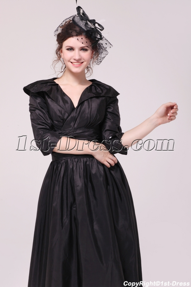 images/201312/big/Black-Taffeta-Middle-Sleeves-Mother-of-Groom-Dress-in-Tea-Length-3833-b-1-1387465915.jpg