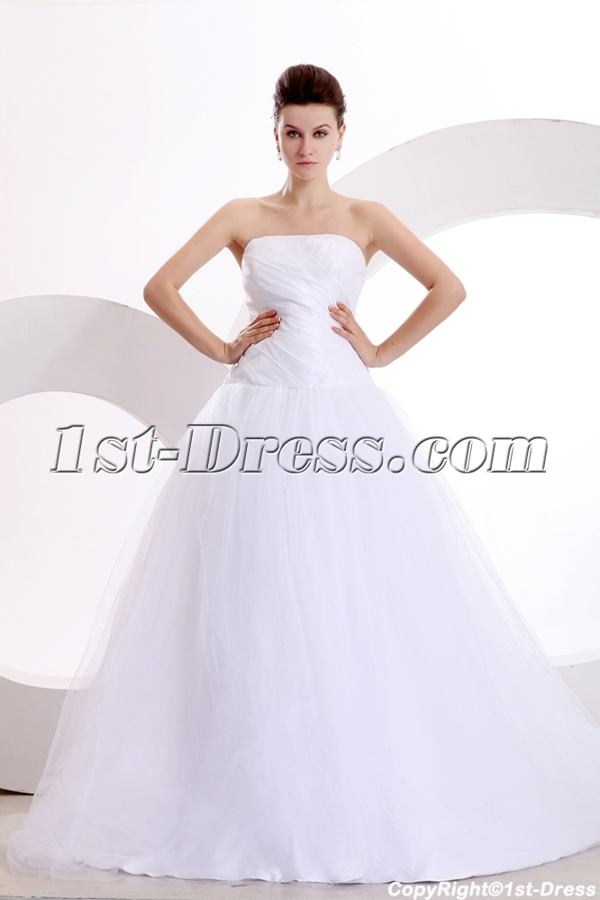 images/201312/big/Concise-Strapless-Wedding-Dress-in-Wholesale-Price-3758-b-1-1386865887.jpg