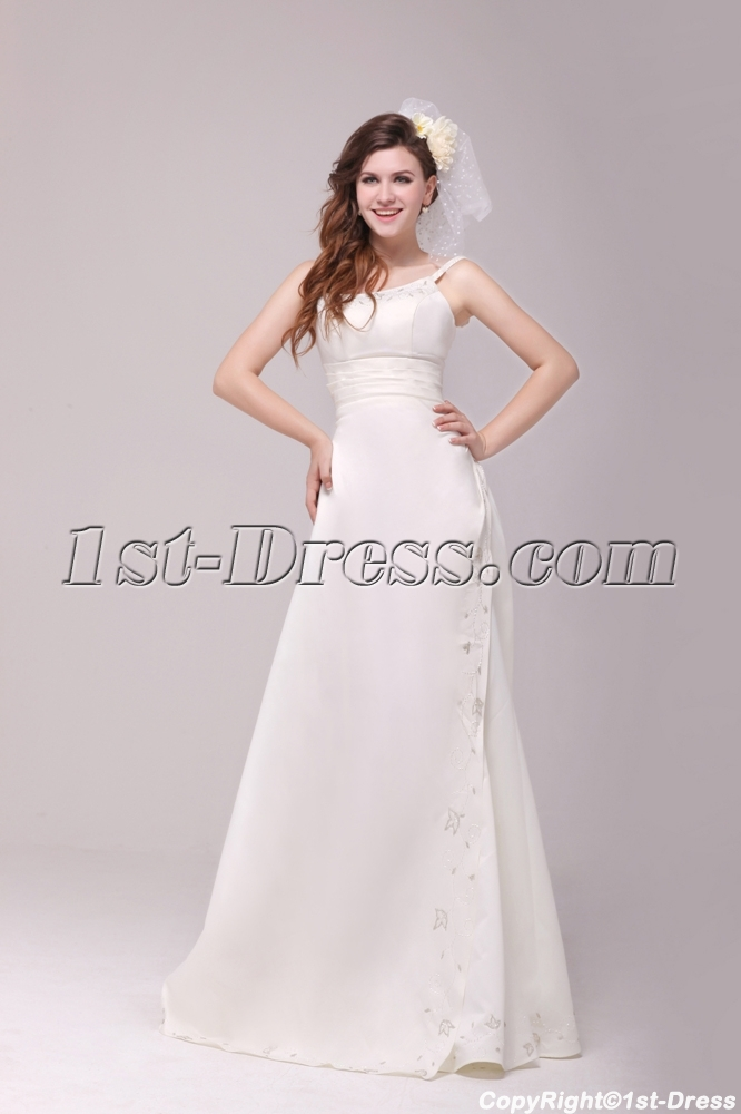Beach Wedding Dresses Older Brides : Mature bride wedding dresses for older brides