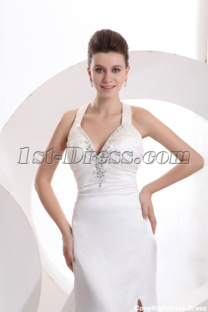 Ivory Beach Wedding Dresses Casual Summer1st Dress