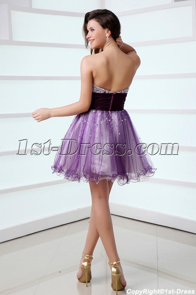 Purple Sweet 16 Dresses Short In Miami 1st Dress Com