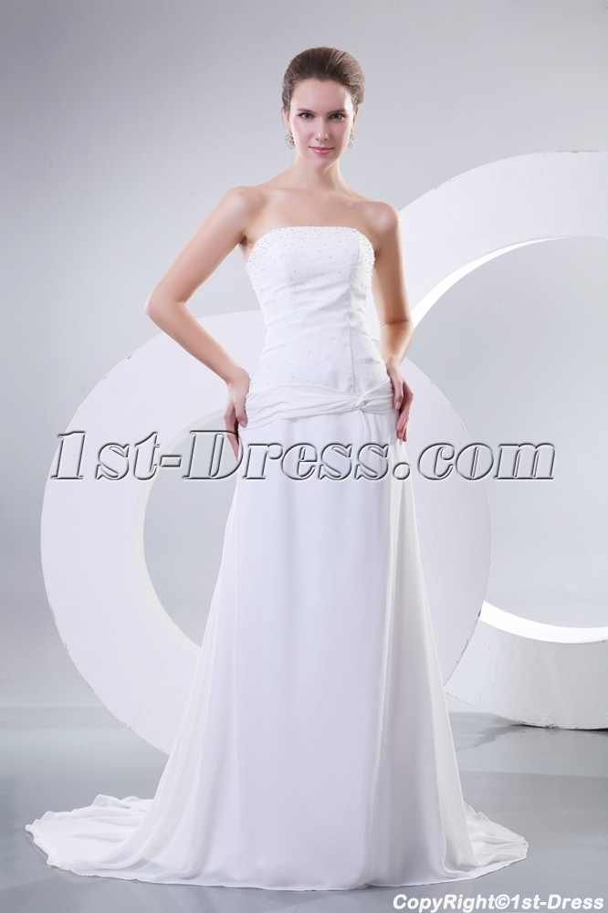 Beach Wedding Dresses For Mature Brides : Gowns gt mature bridal simple for beach