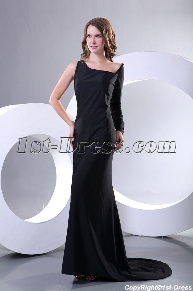images/201312/big/Special-Black-Long-Sleeve-Military-Party-Dress-Cheap-with-Train-3857-b-1-1387894165.jpg