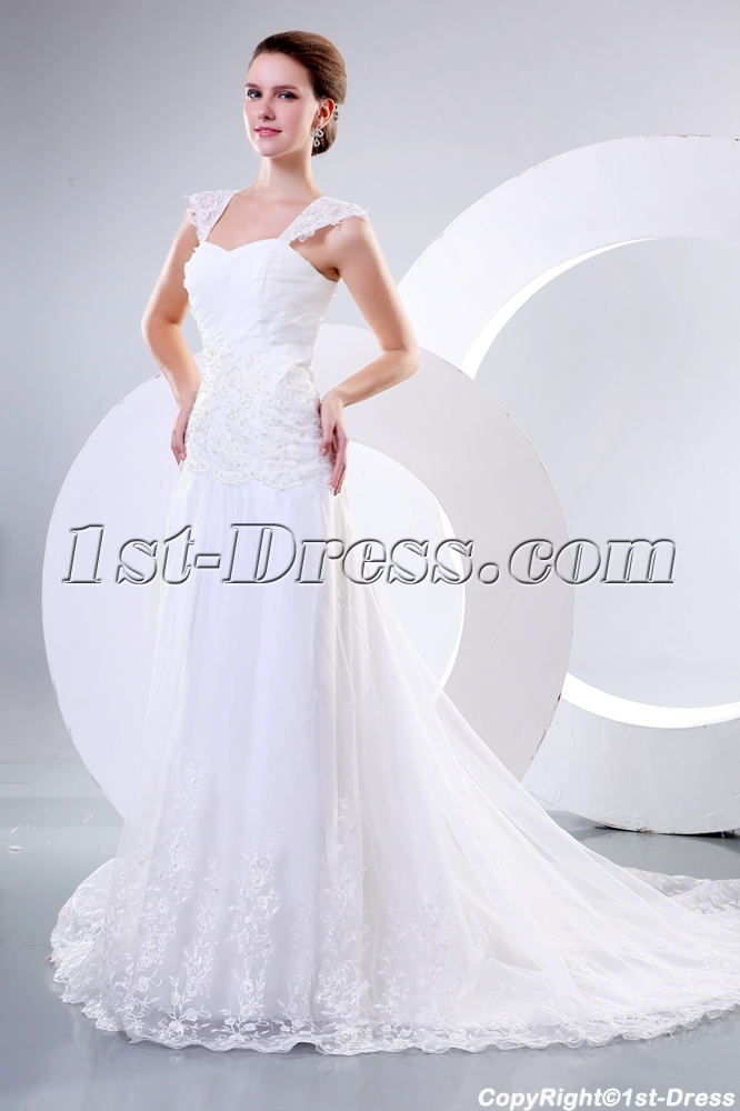 images/201312/big/Sweetheart-Classic-Wedding-Dresses-with-Lace-3915-b-1-1388415342.jpg