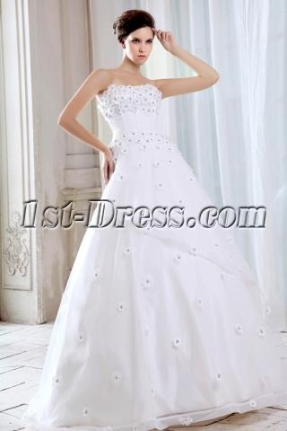Floor Length Fairytale Ball Gown Wedding Dresses
