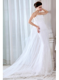 Amazing Sheath 2014 Wedding Gowns