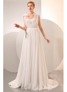 a9946ac19975 Cheap Beach Wedding Dresses Chiffon for Second Wedding:1st-dress.com