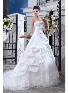 Elegant Taffeta Couture Bridal Gowns Sydney