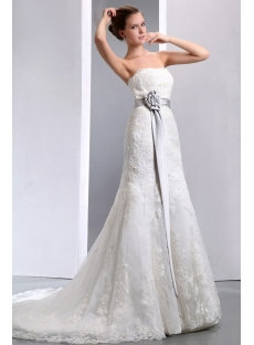 images/201401/small/Fit-and-flare-Strapless-Lace-Wedding-Dresses-with-Silver-Sash-4102-s-1-1389782314.jpg