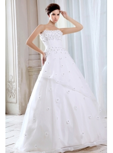 Floor Length Fairytale Ball Gown Wedding Dresses
