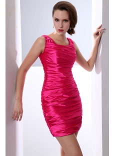 Hot Pink Mini Length Club Dresses for Juniors under 100