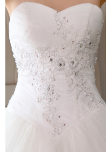 Ivory Sweetheart Outdoor Ball Gown Wedding Dresses for Fall