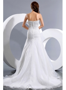 Latest Beautiful Wedding Dress with Drop Waist