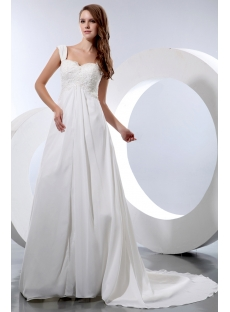 Plus Wedding Dress Online Boutique Charming Empire Chiffon Dress