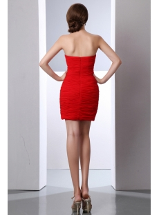 Red Cute Junior Club Mini Dresses:1st-dress.com