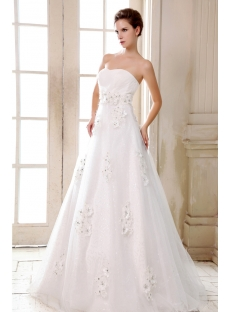 Romantic Sweetheart Empire Plus Size Wedding Dresses Chicago