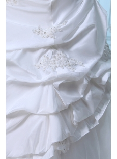 Romantic Taffeta Lace up Wedding Dresses Melbourne