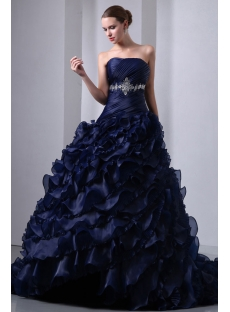 images/201401/small/Special-Navy-Blue-Organza-Ruffled-Bridal-Gown-2014-Corset-4293-s-1-1390496579.jpg
