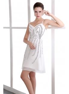 Strapless Sequin Short Prom Dress for Junior