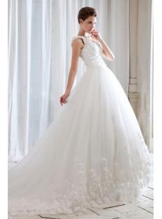 Stunning One Shoulder Celebrity Wedding Dresses for Sale