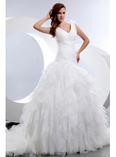 images/201401/small/Stunning-Sleeveless-V-neck-Ruffles-Organza-Bridal-Gowns-4089-s-1-1389714738.jpg