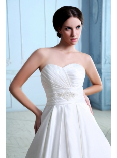 Sweet A-line Long Corset Couture Wedding Dresses Sydney