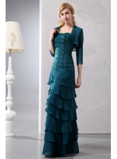 images/201401/small/Teal-Blue-Drop-Waist-Sweetheart-Layers-Chiffon-Mother-of-Brides-Dress-with-Match-Jacekt-4214-s-1-1390237332.jpg