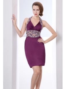 grape sexy graduation dresses for college