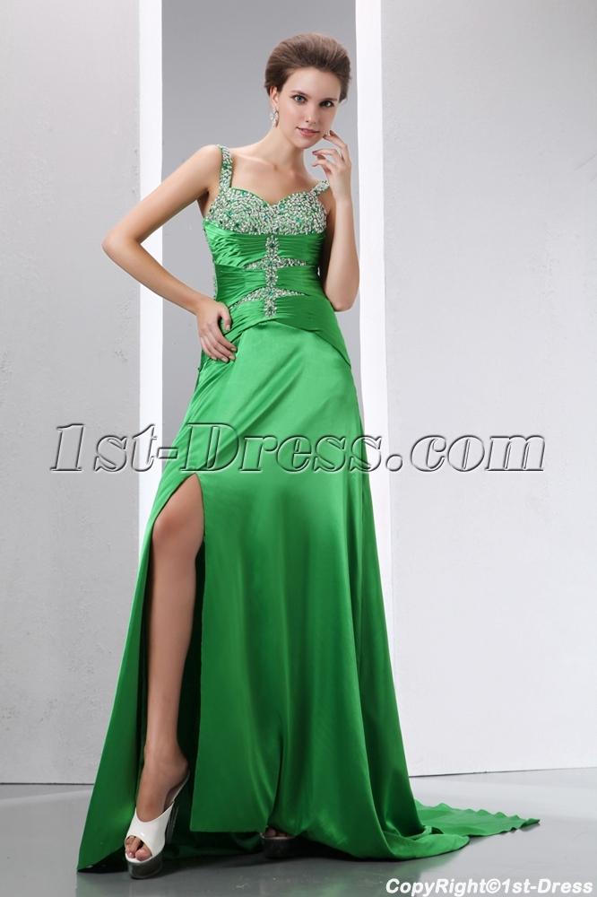 images/201401/big/Beaded-Green-Straps-A-line-Slit-Celebrity-Dress-with-Detachable-Train-4139-b-1-1389885788.jpg