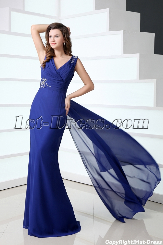 images/201401/big/Elegant-Royal-Blue-V-neckline-Chiffon-Sheath-Mother-of-Groom-Dress-3956-b-1-1388681596.jpg