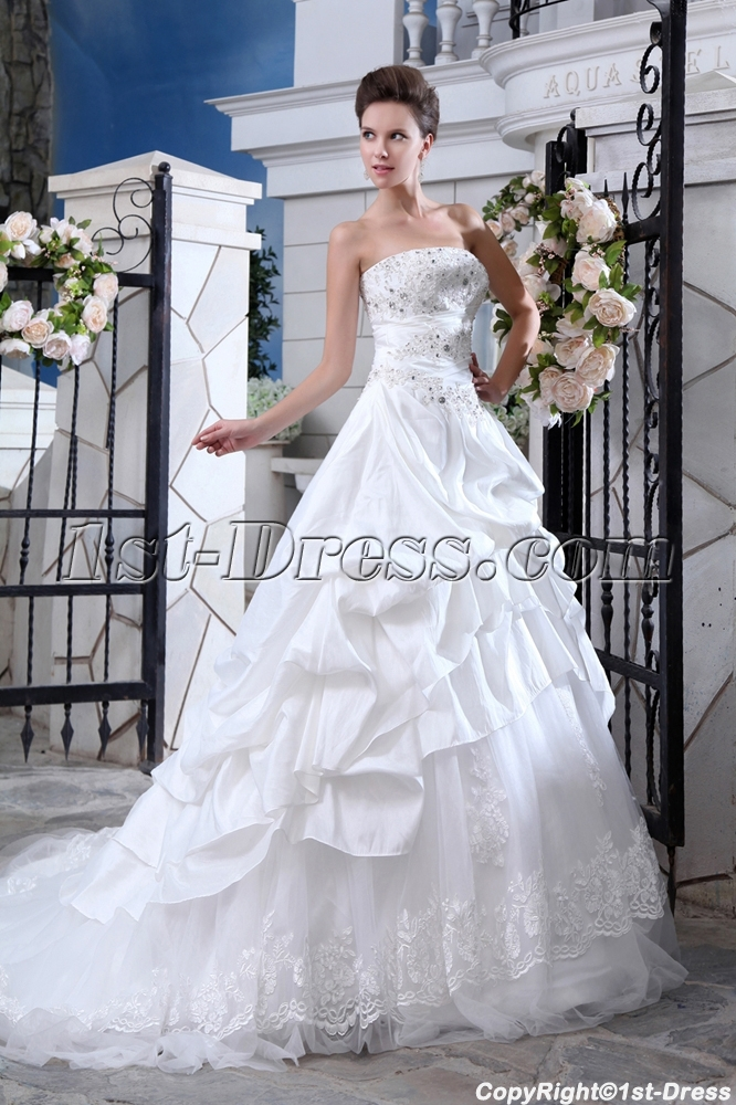 Elegant Taffeta Couture Bridal Gowns Sydney Loading Zoom